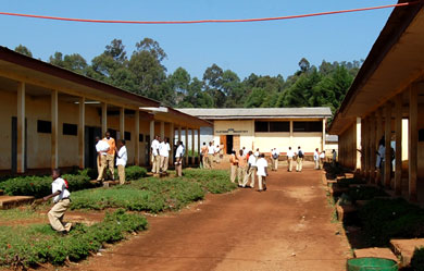 Industrial Arts wing of GTHS Kumbo